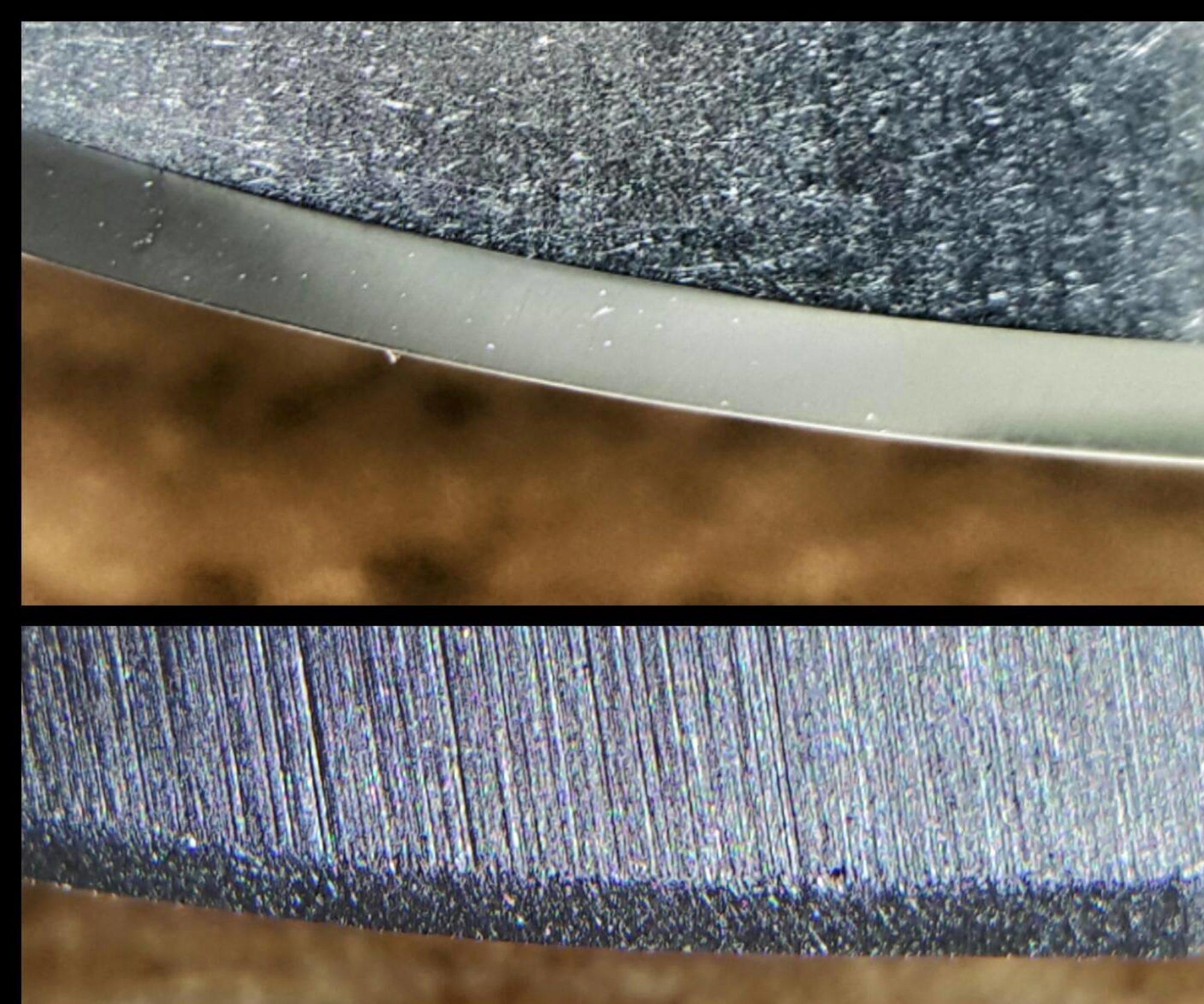 The Ka-Six knife edge - Stay sharper for Longer